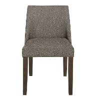 Brown Upholstered Dining Room Chair - Leland