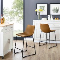 Industrial Brown 26 Inch Counter Height Stool (Set of 2)