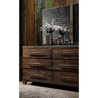 Modern Rustic Brown Dresser - Forge