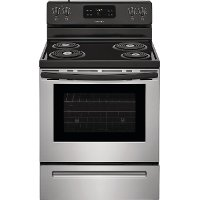FFEF3016VS Frigidaire 30 Inch Electric Range - 5.3 cu. ft. Stainless Steel