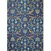 R131-NV-4X6-AL110 4 x 6 Small Transitional Danbury Navy Blue Rug - Valencia