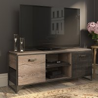 60 Inch Rustic Gray TV Stand - Refinery