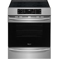 FGIH3047VF Frigidaire 30 Inch Electric Induction Range with Air Fry - 5.4 cu. ft. Stainless Steel