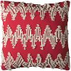 20 Inch Red Throw Pillow