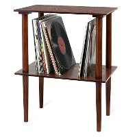 Victrola Wooden Stand with Record Holder - Espresso