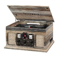 Victrola Bluetooth Record Player with 3-speed Turntable