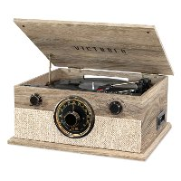 Victrola Brookline 6-in-1 Bluetooth Record Player