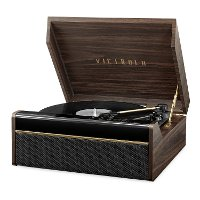 Victrola Avery Bluetooth Record Player with 3-Speed Turntable