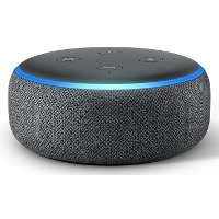 B07FZ8S74R / AMZ-DOT3V2-B Amazon Echo Dot - Charcoal, 3rd Generation