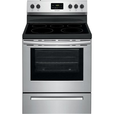 FCRE3052AS Frigidaire 30 Inch Electric Range - 5.3 cu. ft. Stainless Steel