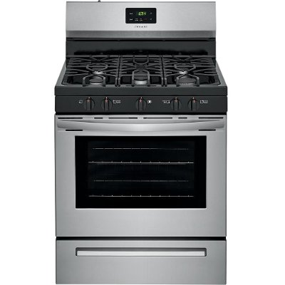FCRG3052AS Frigidaire 30 Inch Gas Range - 5.0 cu. ft. Stainless Steel