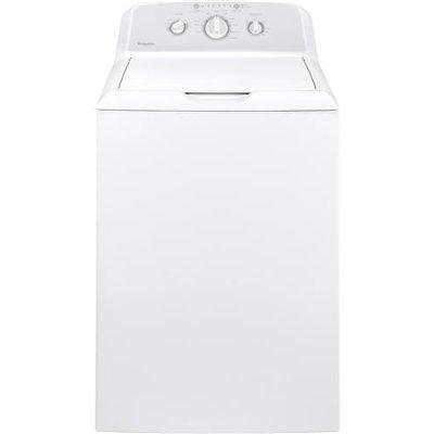 HTW240ASKWS Hotpoint Washer with Stainless Steel Basket - 3.8 cu. ft. White
