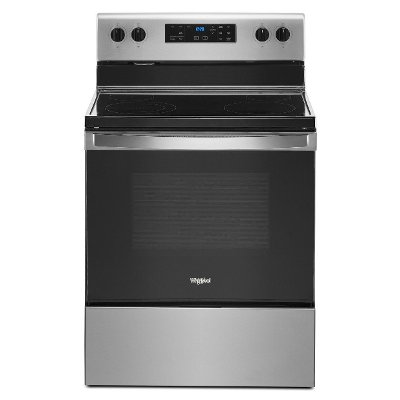 WFE515S0JS Whirlpool 5.3 cu. ft. Electric Range - 30 Inch Stainless Steel