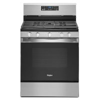 WFG525S0JS Whirlpool 30 Inch Gas Range - 5.0 cu. ft. Stainless Steel