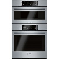 HBL8753UC Bosch 800 Series Smart Speed Combination Wall Oven - 30 Inch, Stainless Steel