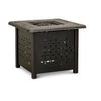 Traditional 32 Inch Square Patio Fire Pit - Pinedale
