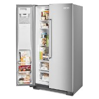 Kitchenaid Counter Depth Side By Side Refrigerator 22 7