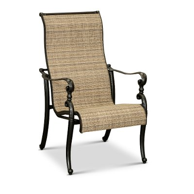 Cinnamon Sling Patio Chair - Montreal