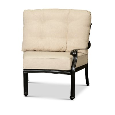 Taupe Right Facing Patio Chair - Montreal
