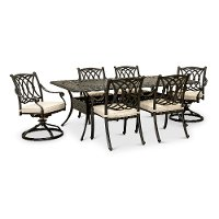 Traditional 7 Piece Patio Set