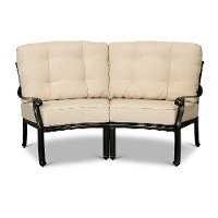 Taupe 2 Piece Patio Sectional - Montreal