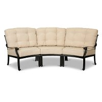 Taupe 3 Piece Patio Sectional - Montreal
