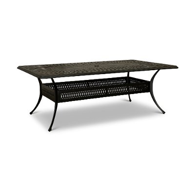 Traditional Rectangular Patio Table - Montreal