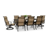 9 Piece Rectangular Patio Set - Montreal
