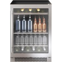 PRB24C01BG Zephyr Single Zone Beverage Cooler - Stainless Steel