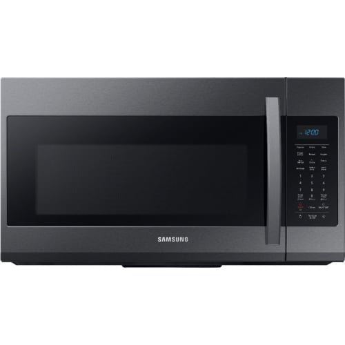 ME19R7041FG Samsung Over the Range Microwave - 1.9 cu. ft. Black Stainless Steel