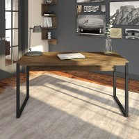 Rustic Brown 60 Inch Writing Desk - Latitude