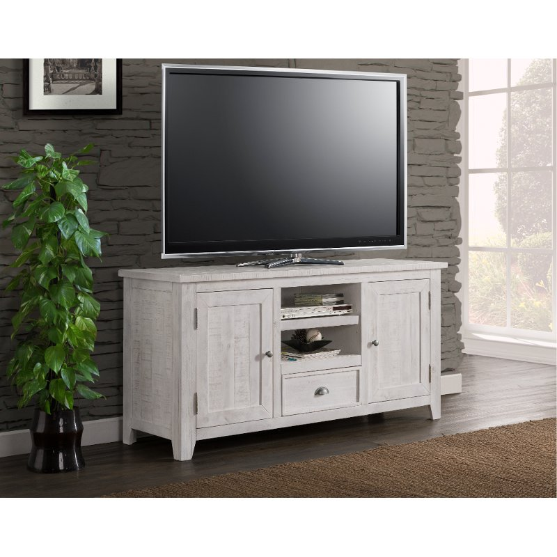 Distressed White 60 Inch Tv Stand