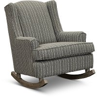 Flannel Taupe Rocker Runner - Willow