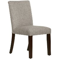 63-6ZMFTH Beige Upholstered Dining Room Chair - Zuma