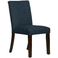 63-6ZMNV Navy Upholstered Dining Room Chair - Zuma