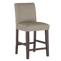 63-7ZMFTH Beige Upholstered Counter Height Stool - Zuma