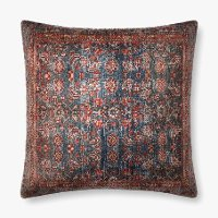 Printed Multi Color Kilam Floor Pillow
