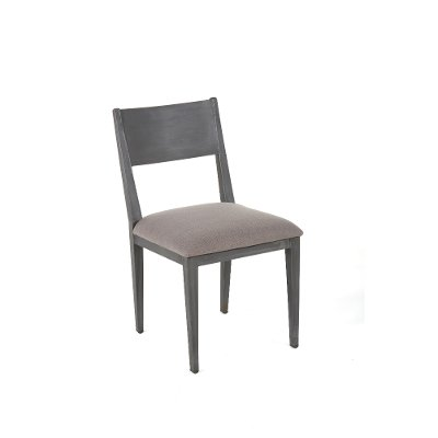 Gray Iron Dining Room Chair - Logan