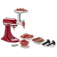 KSMMGA KitchenAid Stand Mixer Metal Food Grinder Attachment