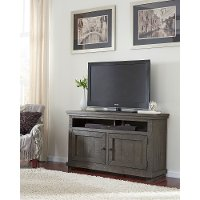 Distressed Gray 54 Inch TV Stand - Willow