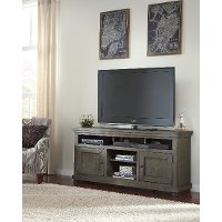Distressed Gray 64 Inch TV Stand - Willow