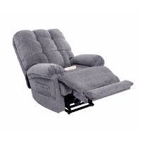 Slate Gray Lift Recliner with Massage and Heat - Venus