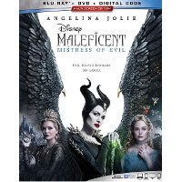 Maleficent: Mistress of Evil (BluRay + DVD + Digital Code)