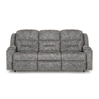 Pewter Gray Power Reclining Sofa - Beacon