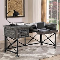Burnished Ash Writing Desk