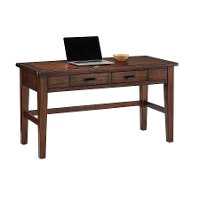 Classic Chestnut Brown Writing Desk - Country Roads