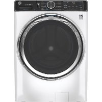 GFW850SSNWW GE Smart Front Load Steam Washer with SmartDispense - White 5.0 cu. ft. Capacity