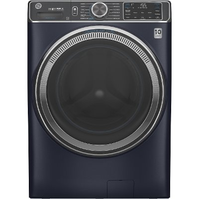 GFW850SPNRS GE Smart Front Load Steam Washer with SmartDispense - 5.0 cu. ft. Capacity Sapphire Blue