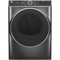 GFD85ESPNDG GE Smart Electric Dryer with Steam - Diamond Gray 7.8 cu. ft.