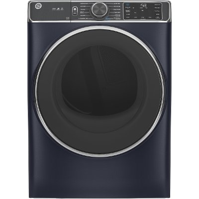 GFD85ESPNRS GE 7.8 cu. ft. Capacity Smart Electric Dryer with Steam - Sapphire Blue